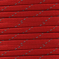 Reflective Imperial Red 550 Paracord (7-Strand) - Spools
