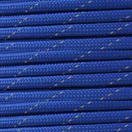 Reflective Royal Blue 550 Paracord (7-Strand) - Spools