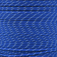 Royal Blue 550 Paracord (7-Strand) with Glow Tracers - Spools