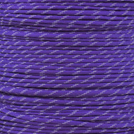 Purple 550 Paracord (7-Strand) with Glow Tracers - Spools