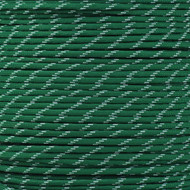 Kelly Green 550 Paracord (7-Strand) with Glow Tracers - Spools