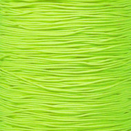 "Neon Yellow 1/32"" Elastic Cord - Spools"