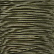 """Camo Green 1/16"""" Elastic Cord - Spools"""