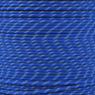 Royal Blue - 550 Paracord with Glow in the Dark Tracers