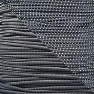 "Reflective Charcoal Gray 1/8"" Shock Cord - Spools"