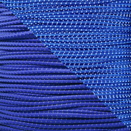 "Reflective Electric Blue 1/8"" Shock Cord - Spools"