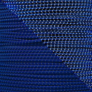 "Reflective Midnight Blue 1/8"" Shock Cord - Spools"