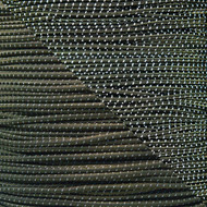 "Reflective Olive Drab 1/8"" Shock Cord - Spools"