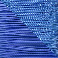 "Reflective Royal Blue 1/8"" Shock Cord - Spools"