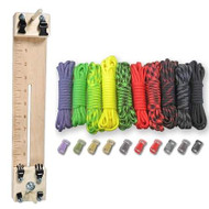 """Paracord Combo Crafting Kit with a 10"""" Pocket Pro Jig - Zombie"""