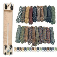 """Paracord Combo Crafting Kit with a 10"""" Pocket Pro Jig - Scouting"""