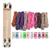 """Paracord Combo Crafting Kit with a 10"""" Pocket Pro Jig - Tie Dye"""
