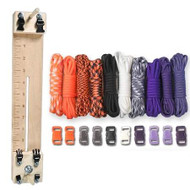 """Paracord Combo Crafting Kit with a 10"""" Pocket Pro Jig - Witch"""