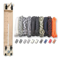 """Paracord Combo Crafting Kit with a 10"""" Pocket Pro Jig - Tactical"""