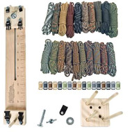 """Paracord Crafting Kit w/ 10"""" Pocket Pro Jig & Monkey Form - Scouting"""