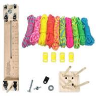 "Paracord Crafting Kit w/ 10"" Pocket Pro Jig & Monkey Form - Noble"