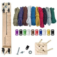 """Paracord Combo Crafting Kit with a 10"""" Pocket Pro Jig & Monkey Form Jig -Primary"""