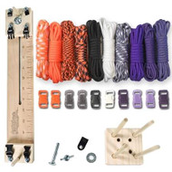 """Paracord Crafting Kit w/ 10"""" Pocket Pro Jig & Monkey Form - Witch"""
