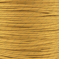 Goldenrod 550 Paracord with Reflective Tracers (7-Strand) - Spools