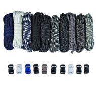 Yankees Colors Combo Kit - Paracord & Buckles
