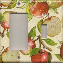 Apples - Double Combo GFI & Switch
