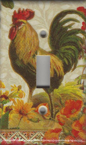 Fall Rooster Single Switch