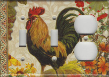 Fall Rooster Triple Combo Switch & Switch & Outlet