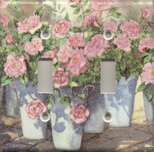 Roses in Blue Pails - Double Switch