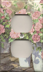 Roses in Blue Pails - Outlet