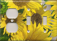 Sunflowers - Triple Combo Outlet & Switch & Switch
