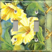 Yellow Hibiscus Flowers - Double Switch