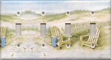 Adirondack Chairs on Dunes - Quadruple Switch
