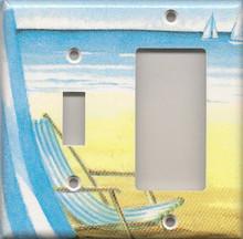 Beach Chair - Double Combo Switch & GFI