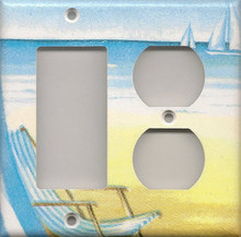 Beach Chair - Double Combo GFI & Outlet