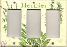 Herbs - Triple GFI/Rocker 988a-TG