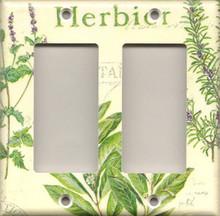 Herbs - Double GFI/Rocker 988DG