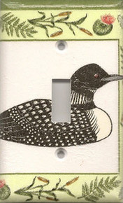Loon with Dragonfly - Single Switch