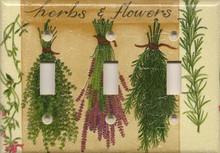 Herbs & Flowers - Triple Switch