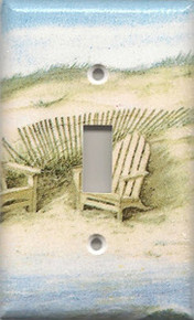 Adirondack Chairs on Dunes - Single Switch