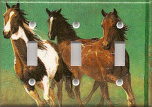 Running Horses - Triple Switch