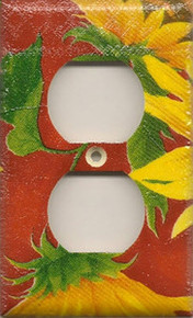 Sunflowers - Red - Outlet