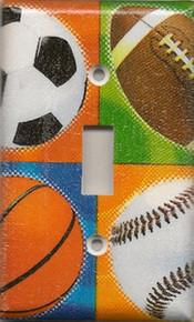 All Sports (Football, Basketball, Soccer, Baseball) - Single Switch