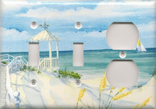 Beach Gazebo - Triple Combo Switch & Switch & Outlet