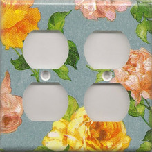 Roses - Blue - Double Combo Outlet