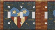 Americana Liberty - Quadruple Switch
