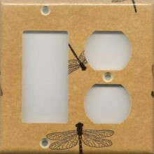 Dragonfly - Double Combo GFI & Outlet