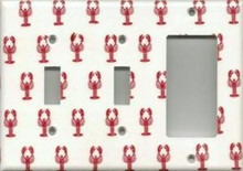 Little Red Lobsters - Triple Combo Switch & Switch & GFI