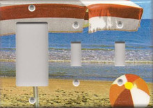 Beach Umbrella - Triple Combo GFI & Switch & Switch