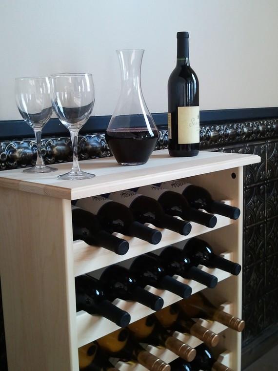 Wooden Wine Tasting Center