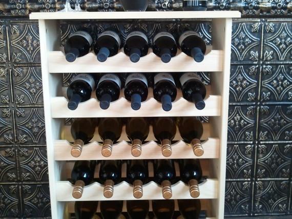 30 Bottle Wine Table